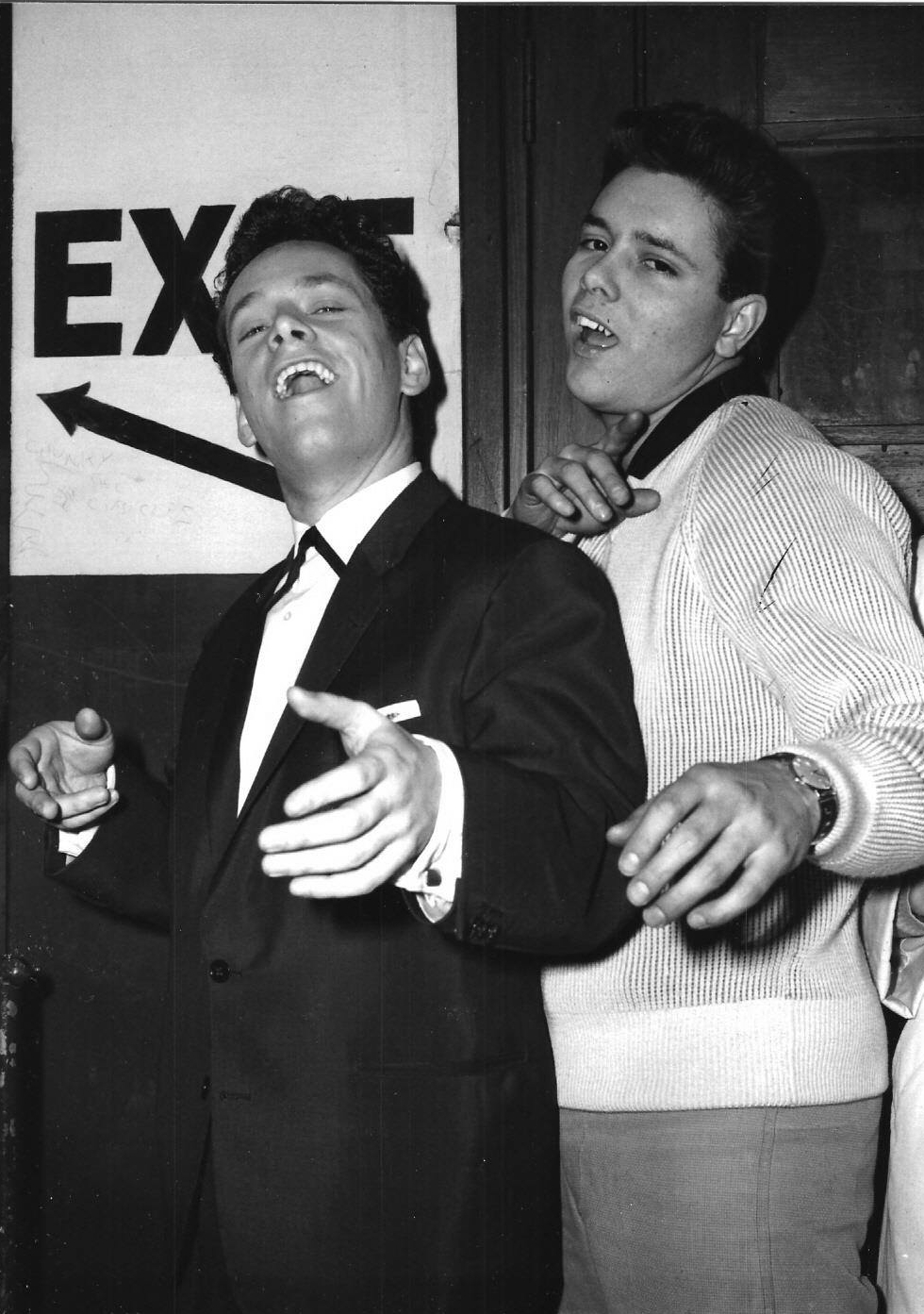Freddy Lloyd and Cliff Richard.jpg